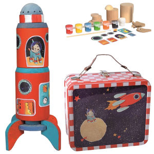 Build And Paint Space Rocket - storyteller