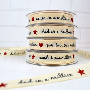 Dad In A Million Ribbon