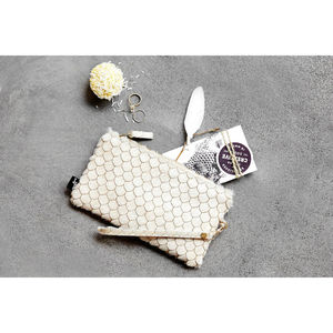 Garcia Zeus Shell Burn Clutch Purse - womens