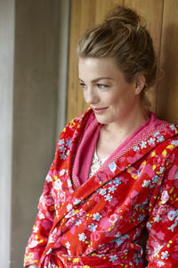Chinese Blossom Red Bathrobe By Pip Studio