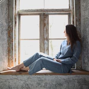 Alma Pyjama, 100%Linen Pyjama, Super Soft Sleepwear