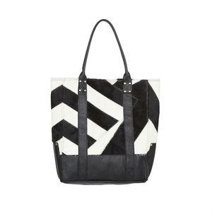 Lupe Chevron Tote Bag