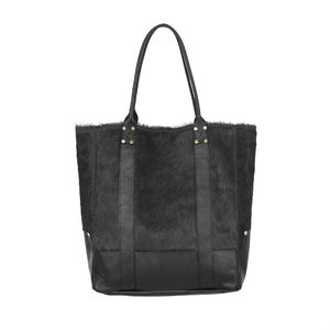 Lupe Hide And Leather Tote Bag