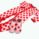 Starchilld Luxury Dotty Baby Grow Gift Set
