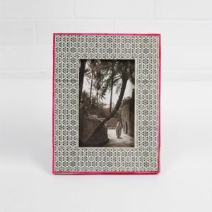 Colour Edge Photo Frame - picture frames