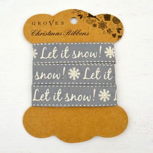 Let It Snow Ribbon - interests & hobbies