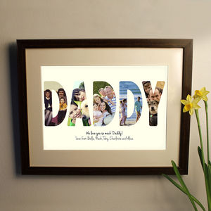Personalised Photo Typography - art & pictures