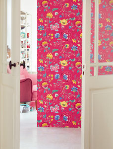Floral Fancy Wallpaper - home decorating
