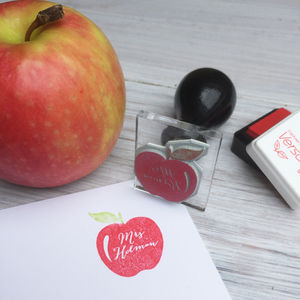 Personalised Teacher Stamp