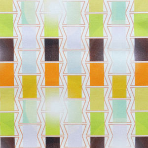 Deckchairs Cotton Fabric - the geometric trend
