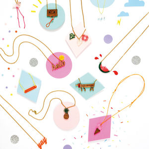 Cool Colours And Designs Necklaces For Children