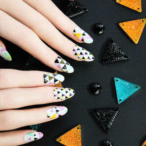 Kaleido Nail Wraps - party wear & accessories
