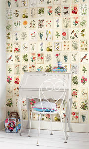 Botanical Paper Wallpower - home decorating