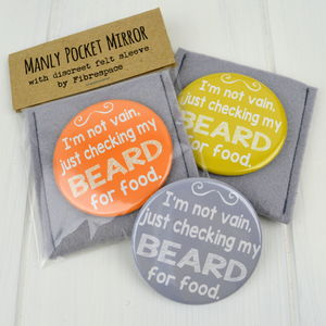 Beard Pocket Mirror - view all father's day gifts