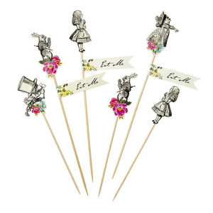 Alice In Wonderland Cake Toppers - cake toppers & decorations