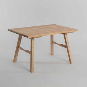 Salt Table | Small Oak Wooden Table - furniture