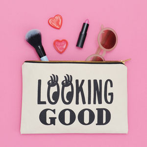 'Looking Good' Canvas Pouch