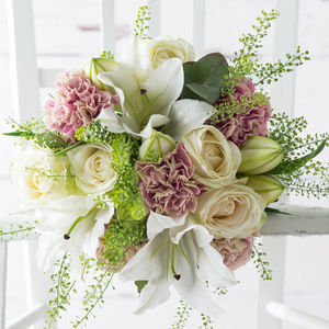 Rosebud Fresh Flowers Bouquet - 60th birthday gifts