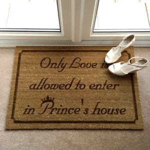 Extra Large Personalised Doormat
