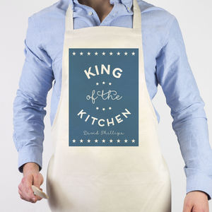 King Of The Kitchen Apron