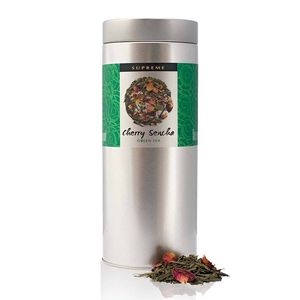 Supreme Cherry Sencha Green Tea 150g - tea & infusions
