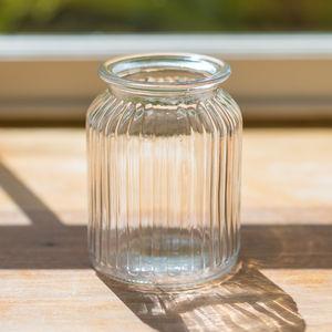 Sweetie Jar Glass Vase - table decoration