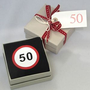 Happy 50th Birthday Socks - men's fashion sale