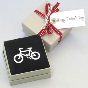 Father's Day Bicycle Socks - token gifts