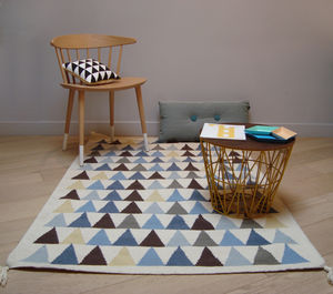 Children's Rugs Triangles - children's room