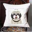 Shih Tzu Personalised Dog Cushion Cover