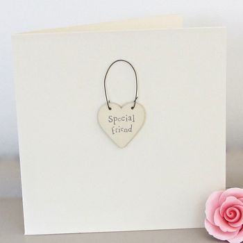 'Special Friend' Handmade Card