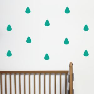 Mini Pear Wall Stickers