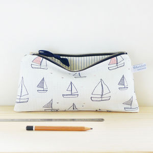 Long Yachts Zip Pouch