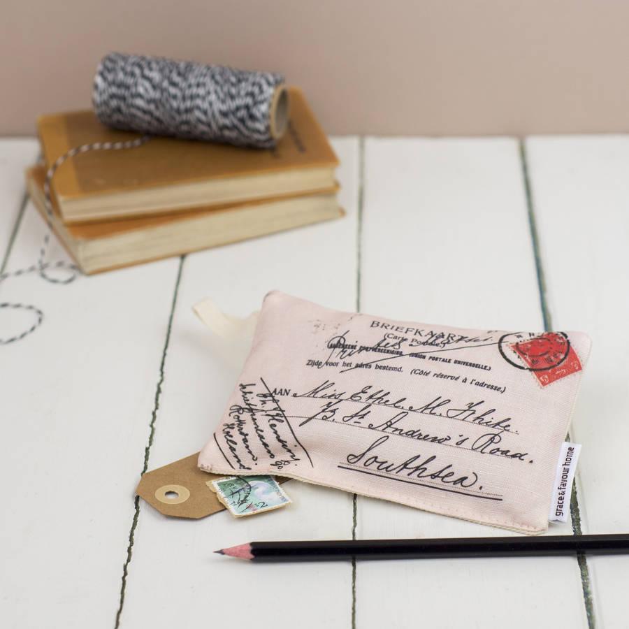 Postcard Lavender Bag