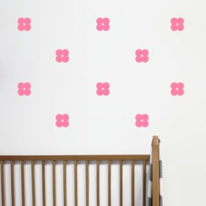 Mini Flower Wall Stickers