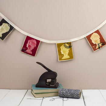 Postage Stamp Bunting