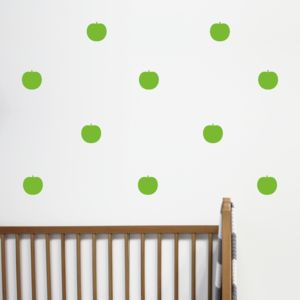 Mini Apple Wall Stickers - children's room