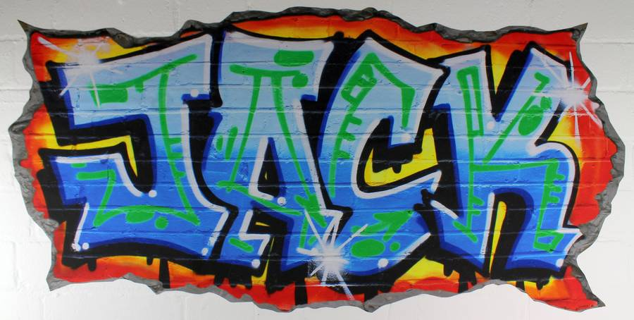 wall art graffiti stickers www imgarcade com online personalised graffiti name wall sticker mural art boys