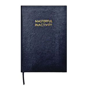 A5 Masterful Inactivity Journal
