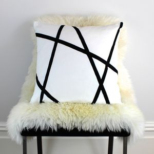 Abstract Lines Cushion