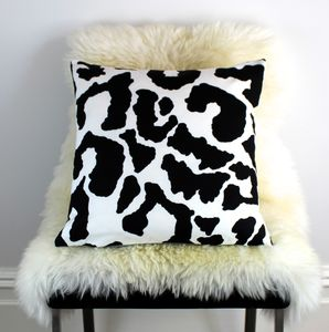 Animal Print Cushion - living room