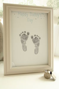 Happy Daddy's Day Inkless Keepsake - gifts under £15