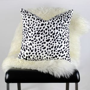 Leopard Print Cushion - patterned cushions