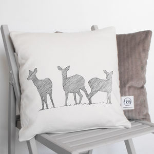Herd Of Deer Cushion