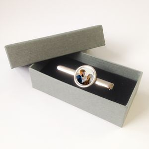 Personalised Photo Tie Clip - men's jewellery