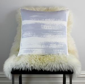 Three Stripes Cushion - living room