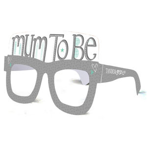Mum To Be Baby Shower Card Glasses