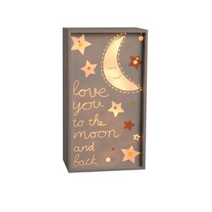 Love You To The Moon And Back Light Box