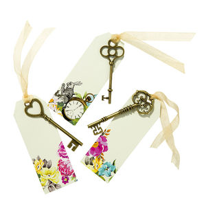 Alice In Wonderland Key Place Cards