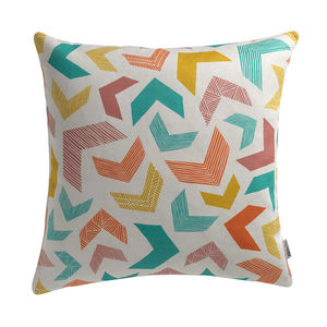 Chevrons Cushion - the geometric trend